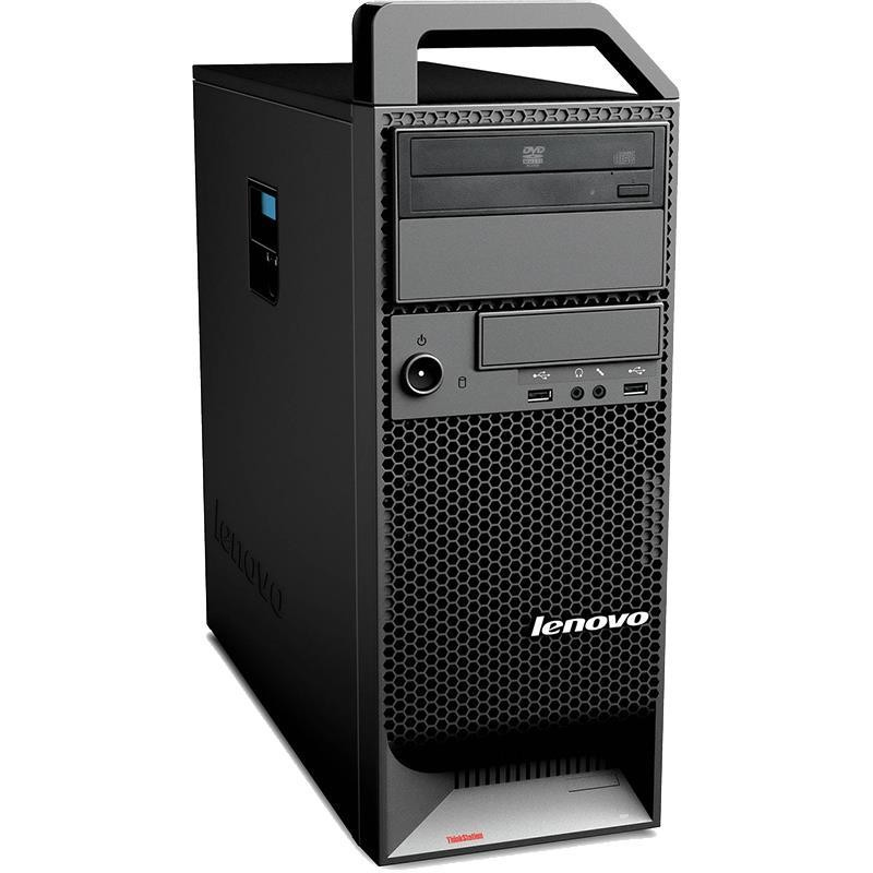 PC WORKSTATION LENOVO S30 THINKSTATION INTEL XEON E5-1620 16GB 480GB SSD + 500GB HDD QUADRO 2000 WINDOWS 10 PRO - RICONDIZIONATO - GAR. 36 MESI